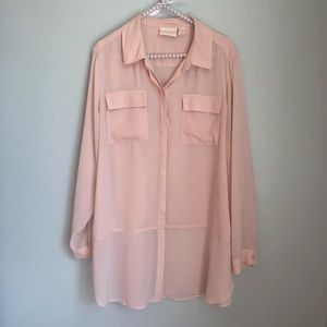Chico's Long Sleeve Blouse Size 2